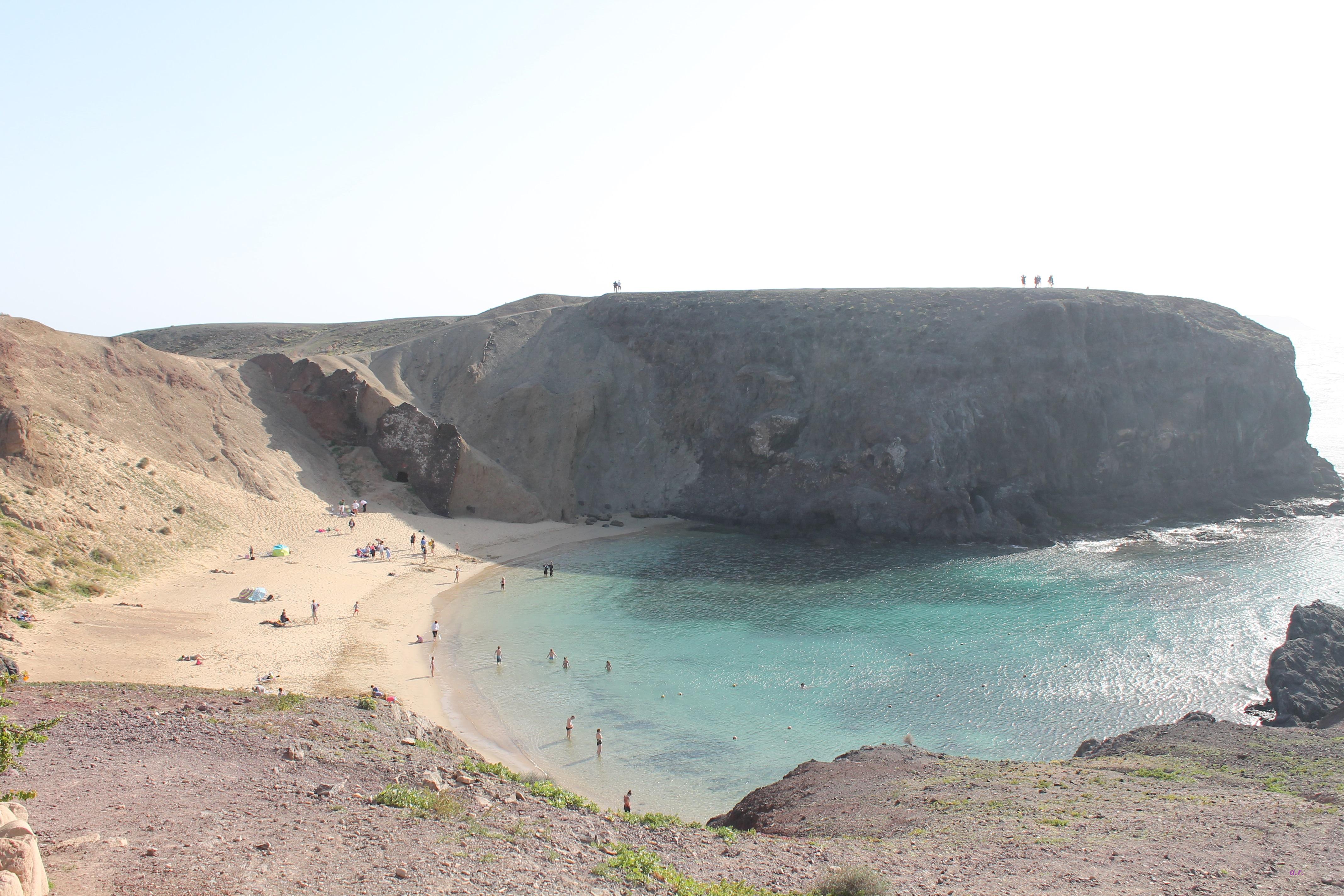Playa Papagayo, Capodanno a Lanzarote ph. @poshbackpackers