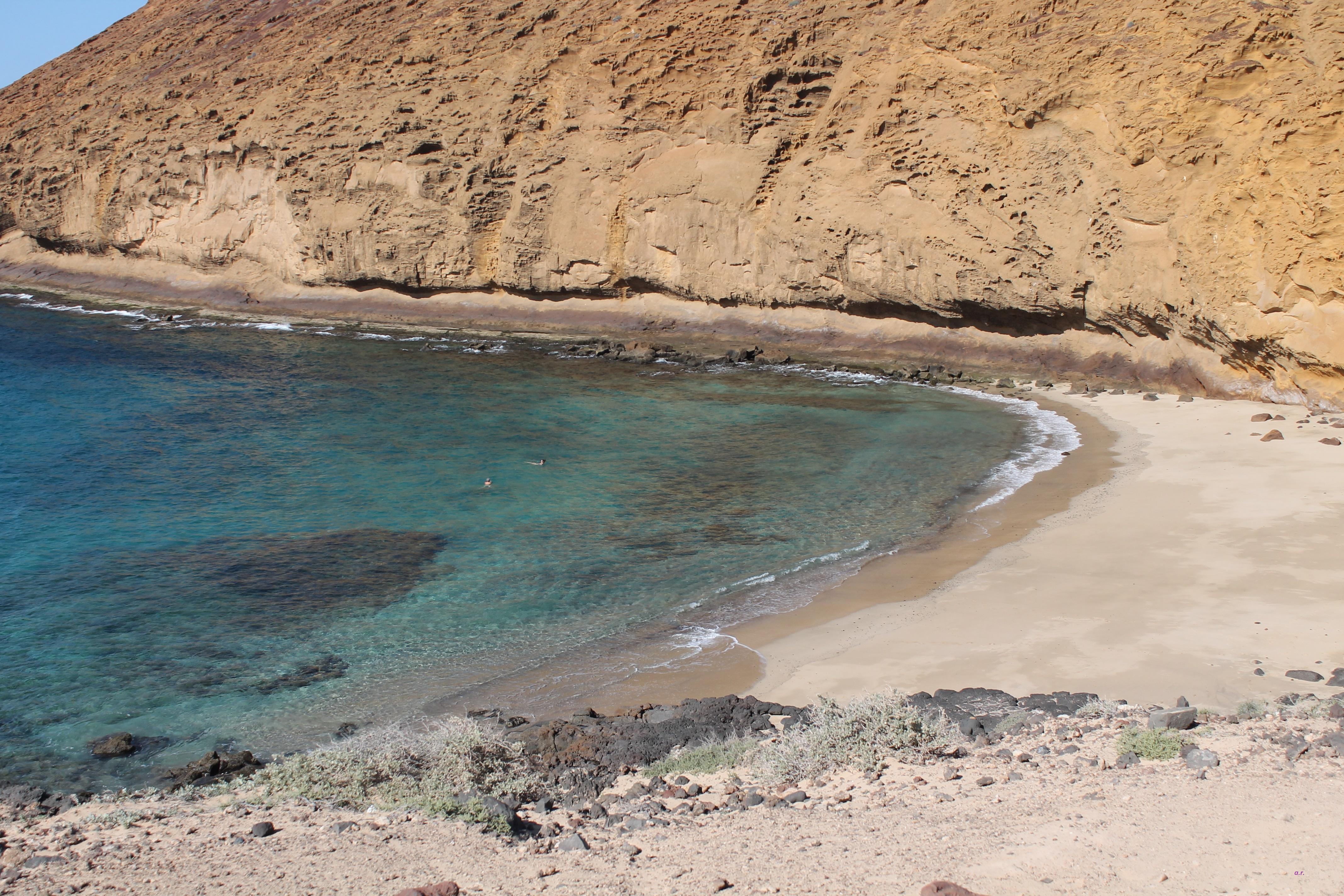 Playa Cocina, la Graciosa Capodanno a Lanzarote