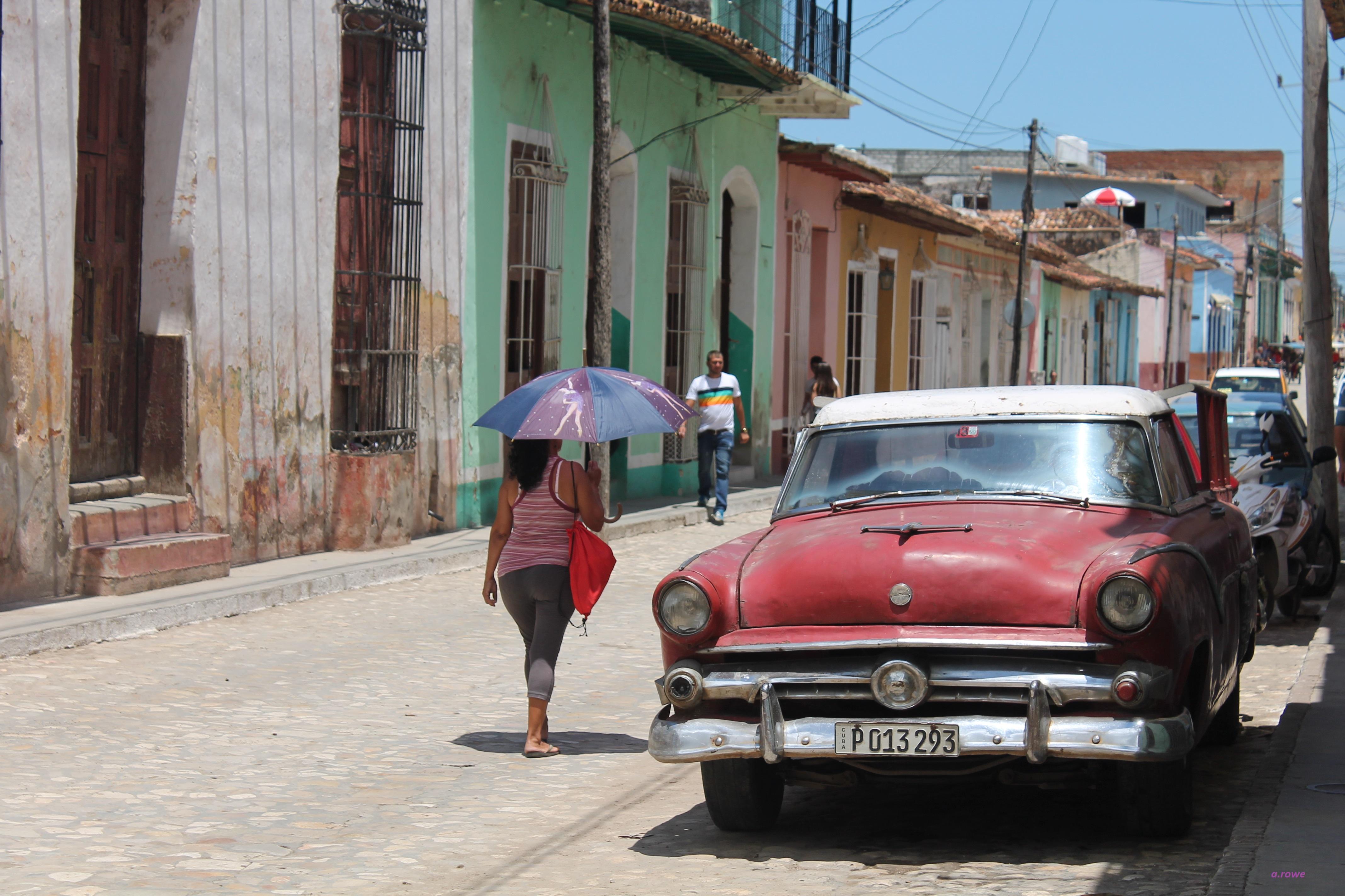 A spasso per Trinidad, Cuba