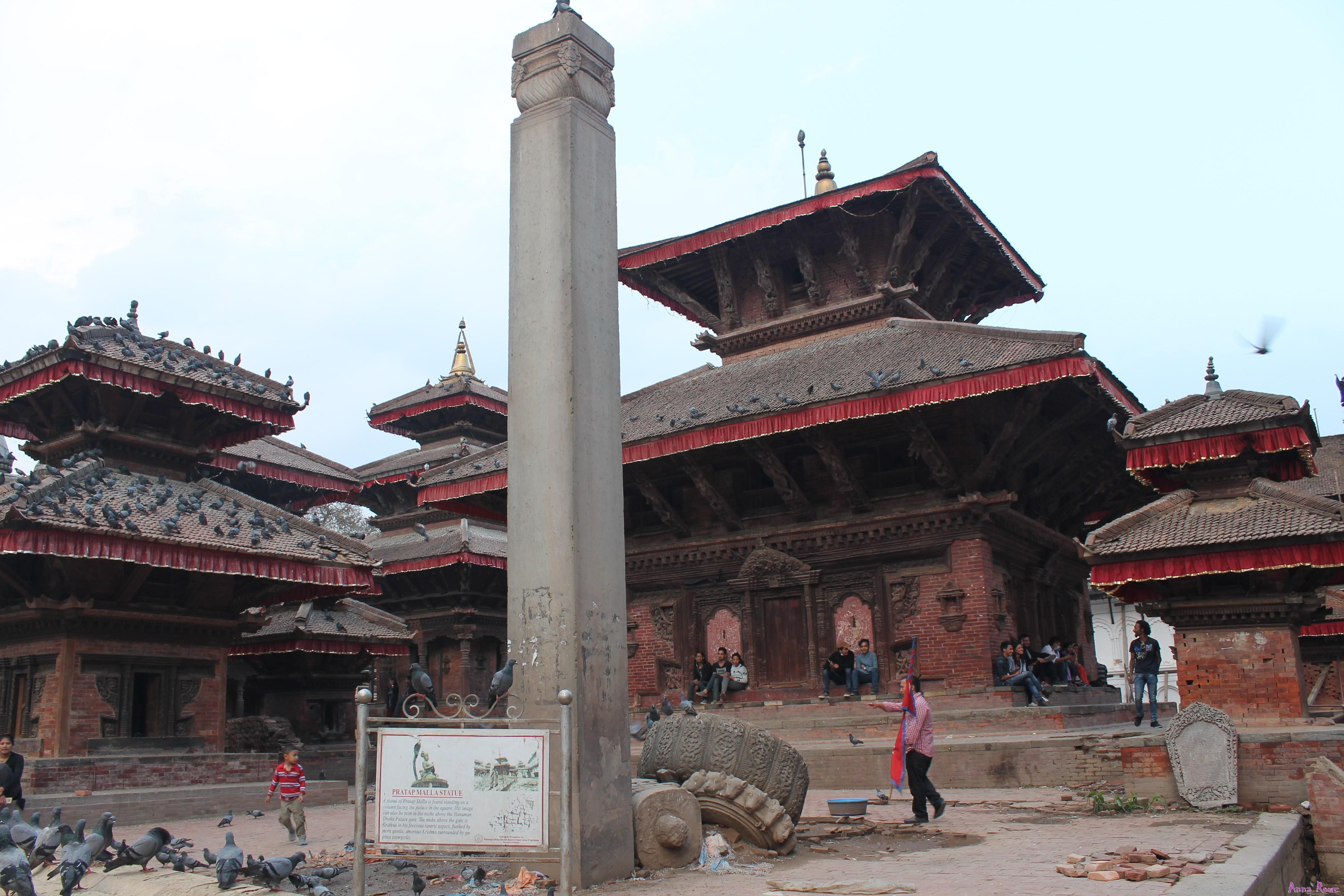 Kathmandu, Nepal senza fare trekking