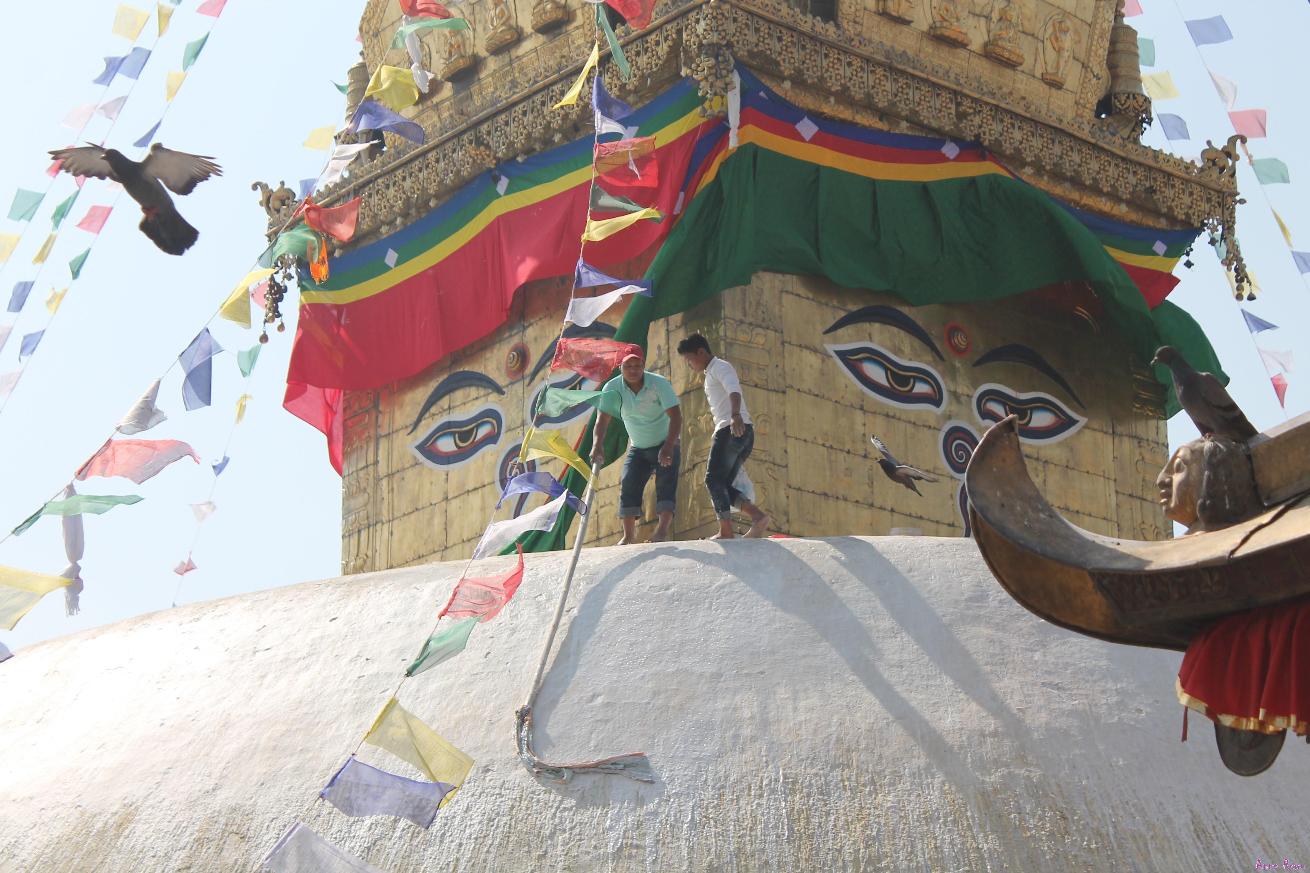 Swayambhunath @posh_backpackers