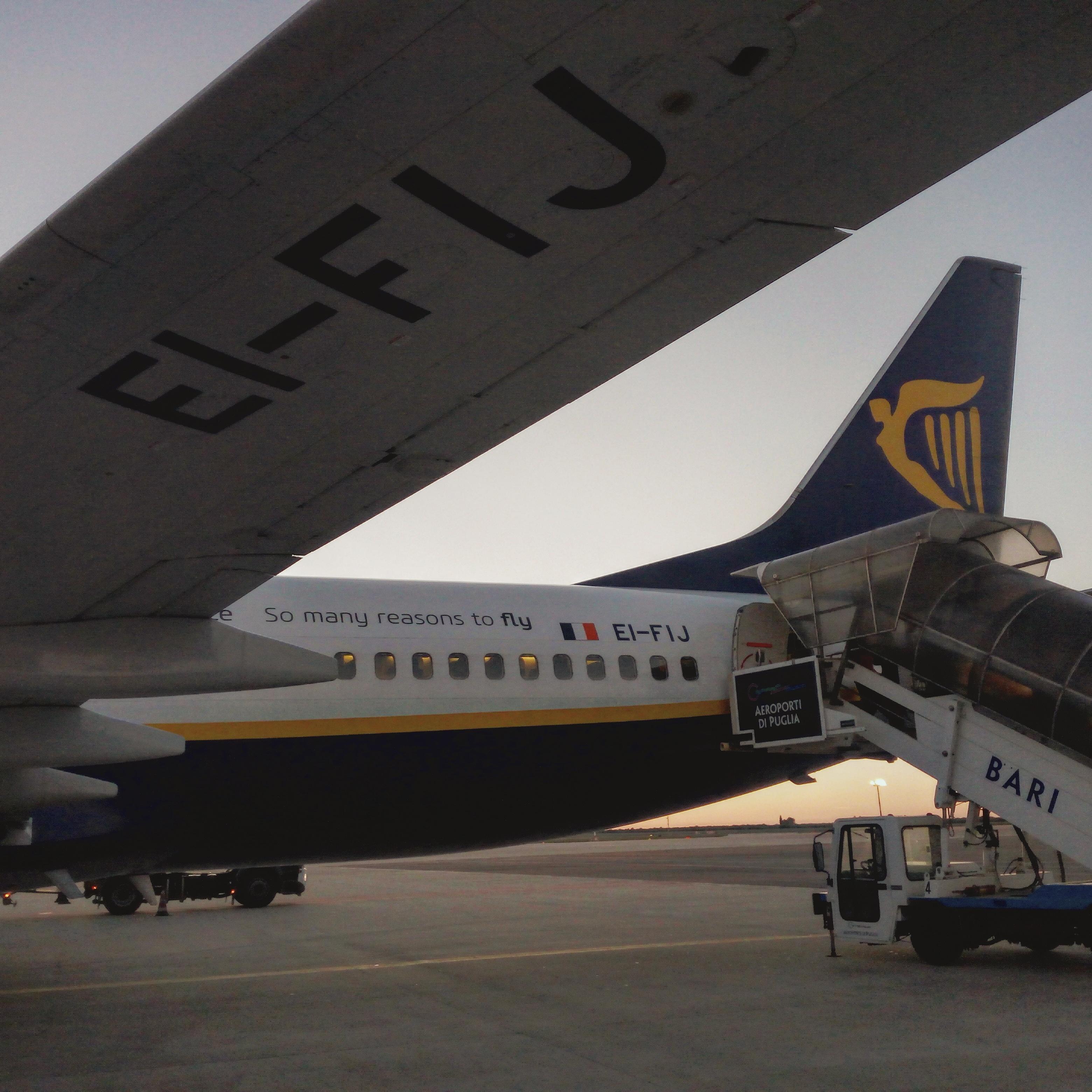 organizzare viaggi low cost - Ryanair