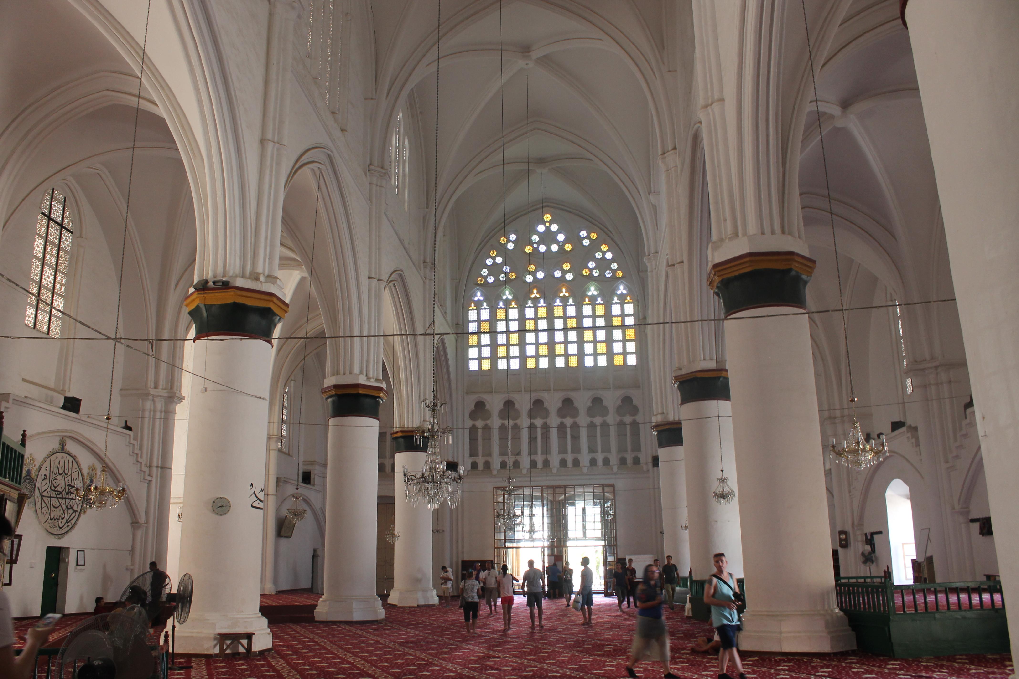 la moschea di Selimiye Cami Nicosia in un giorno
