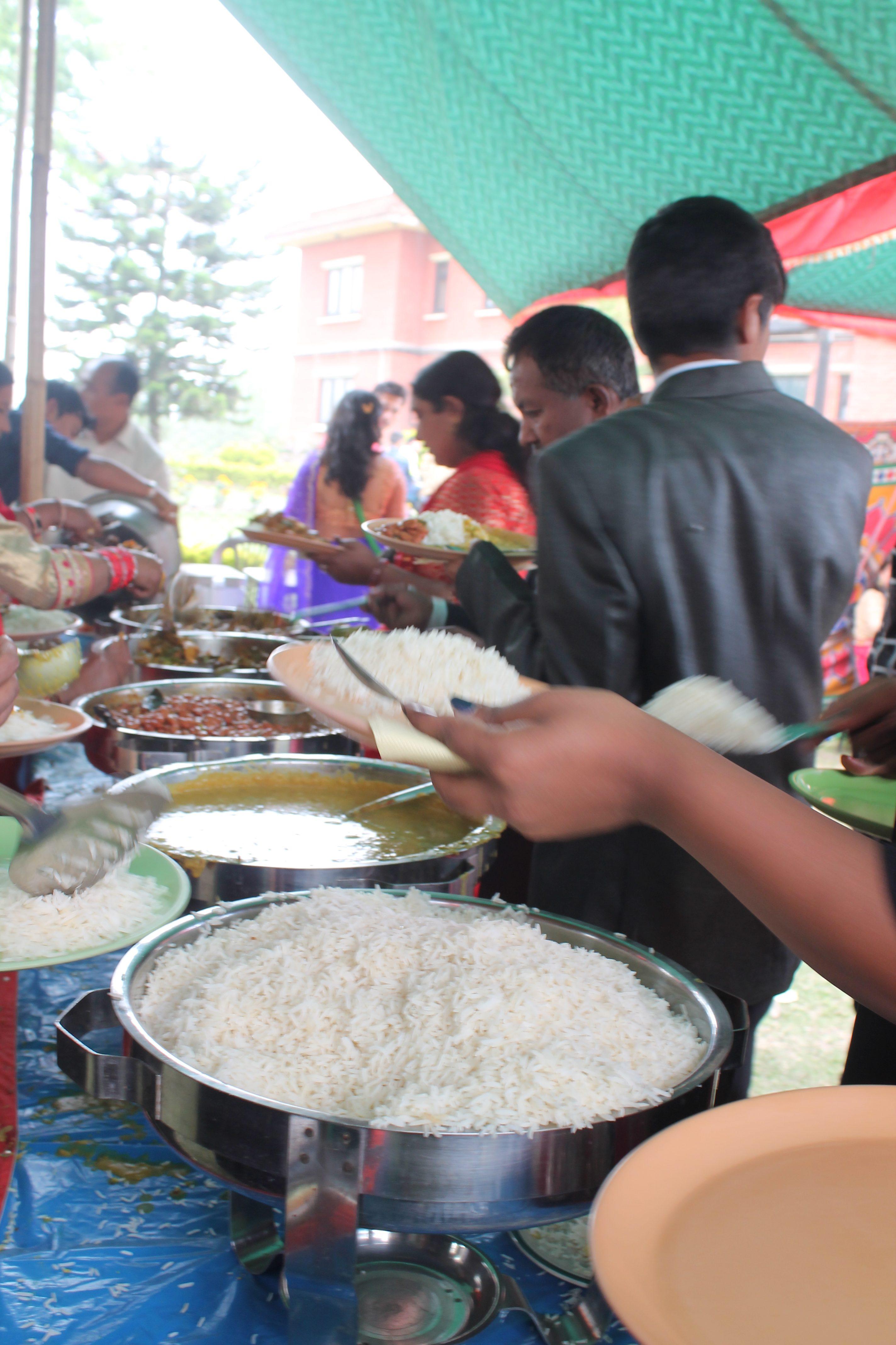 Il buffet @posh_backpackers
