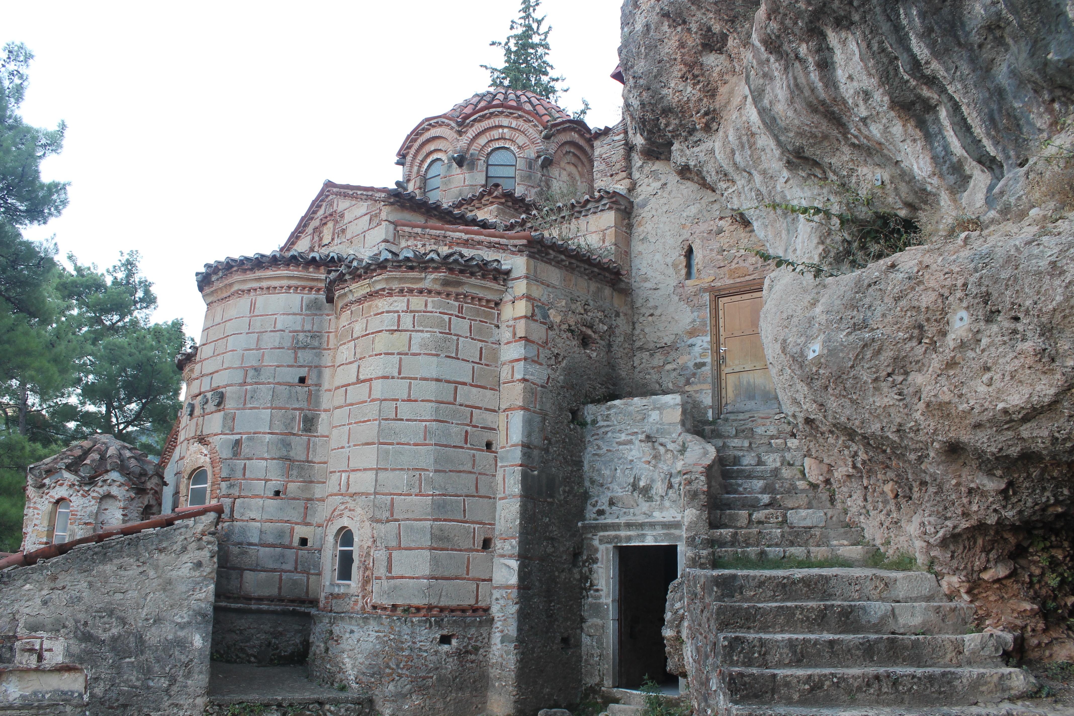 Mystras, il monastero di Peribleptos
