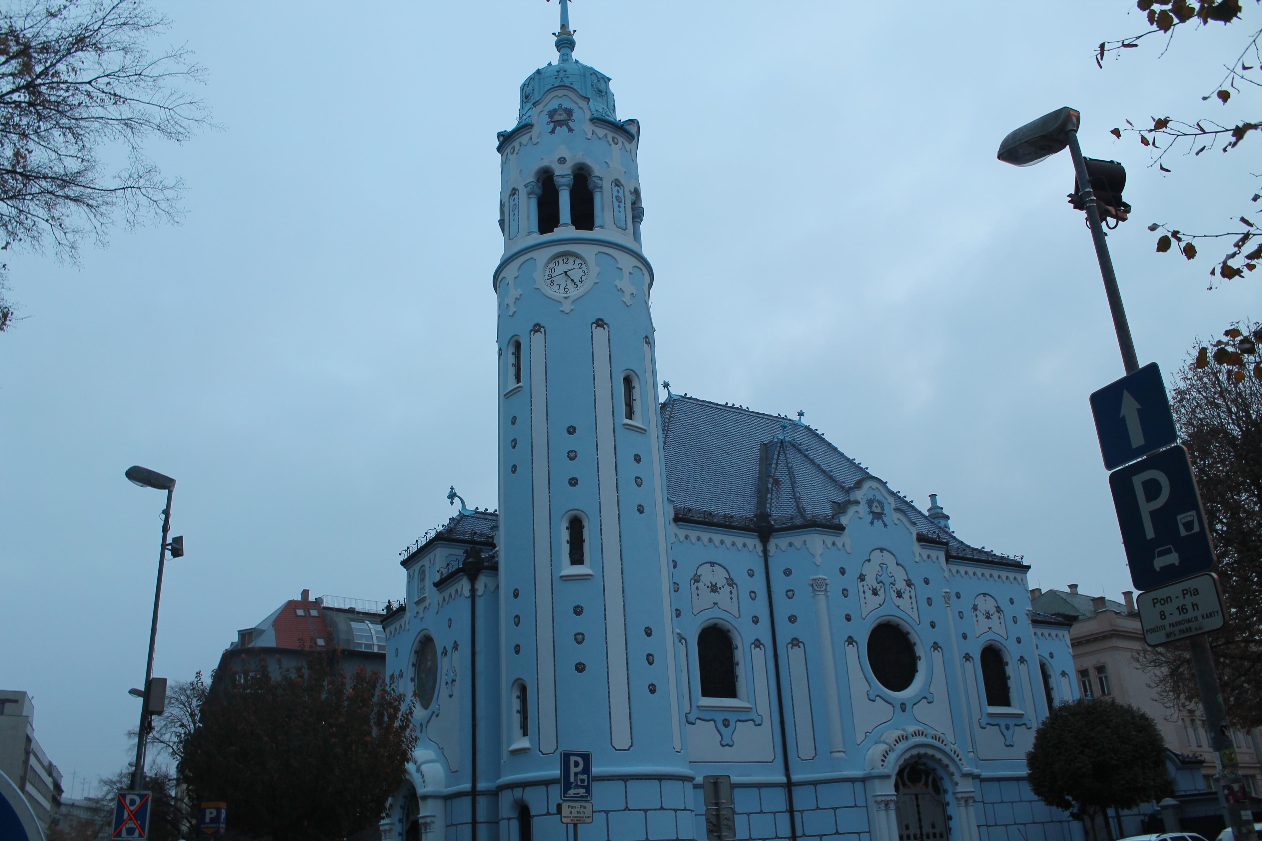 La chiesa Blu Bratislava