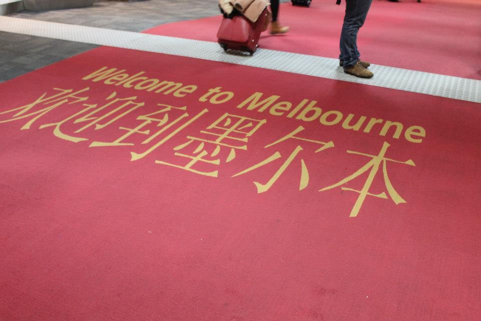 L'arrivo a Melbourne Due settimane in Australia