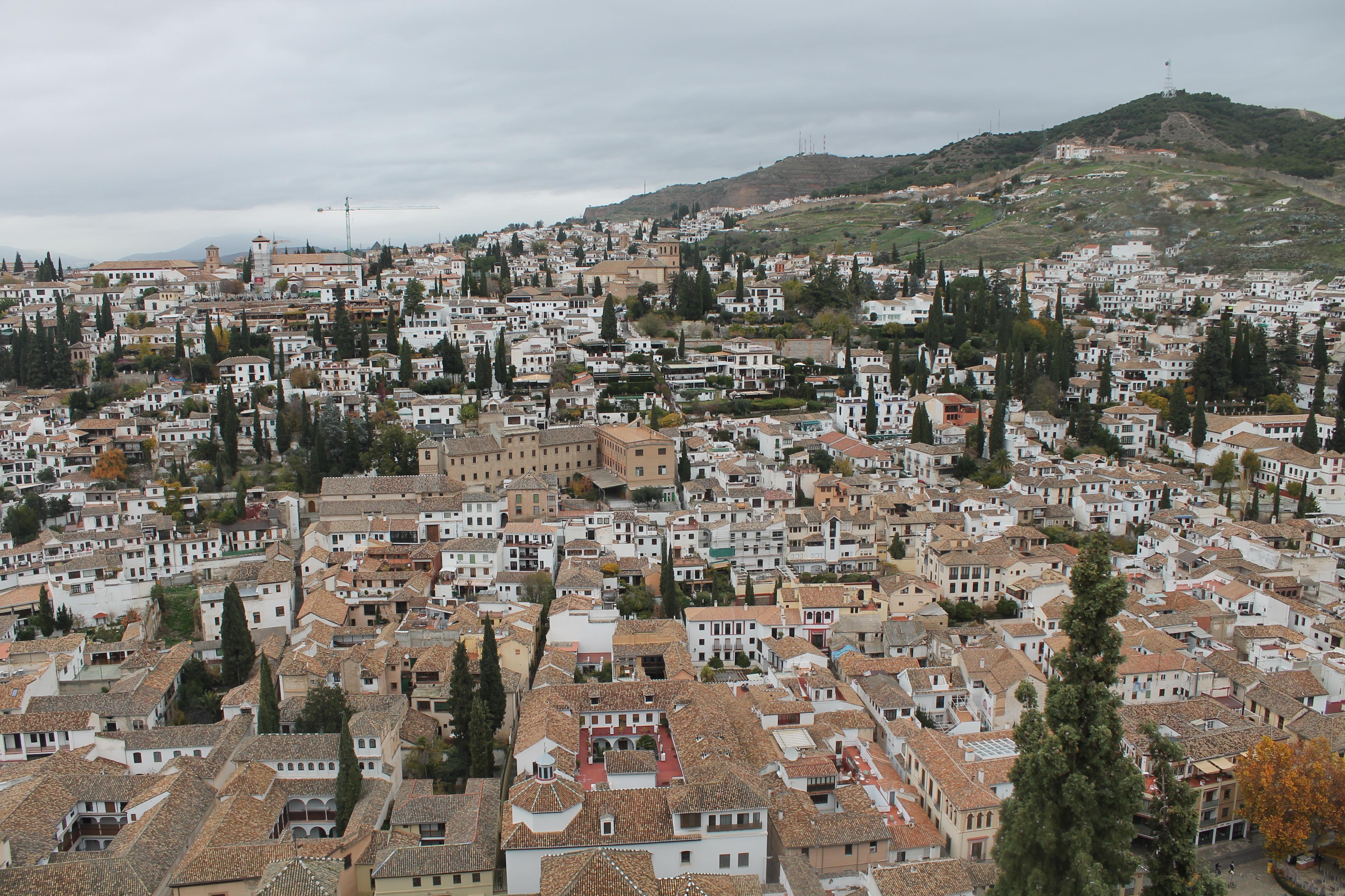 Visitare l'Alhambra a Granada Alcazaba