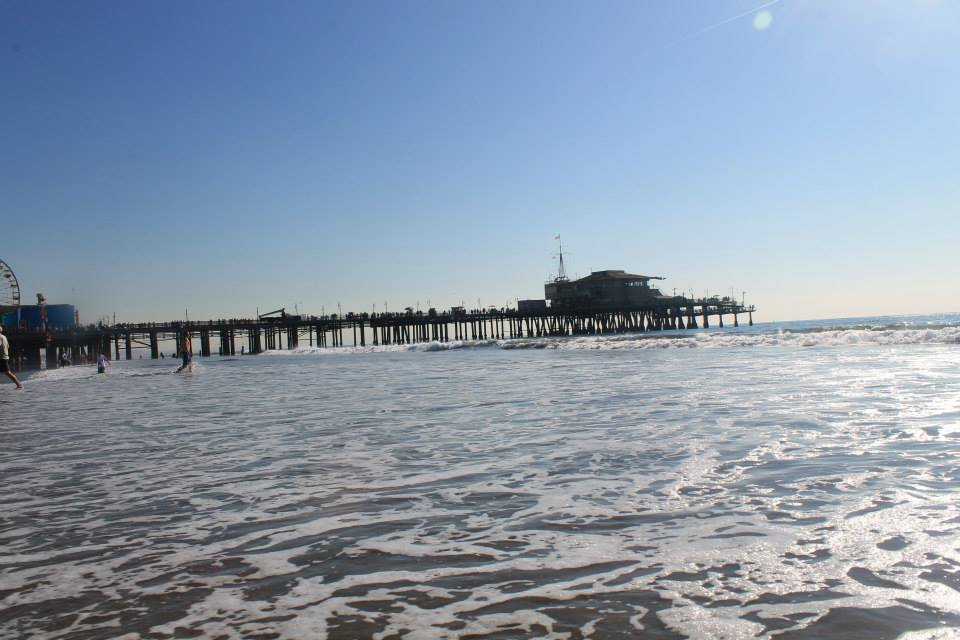 Santa Monica Itinerario in california