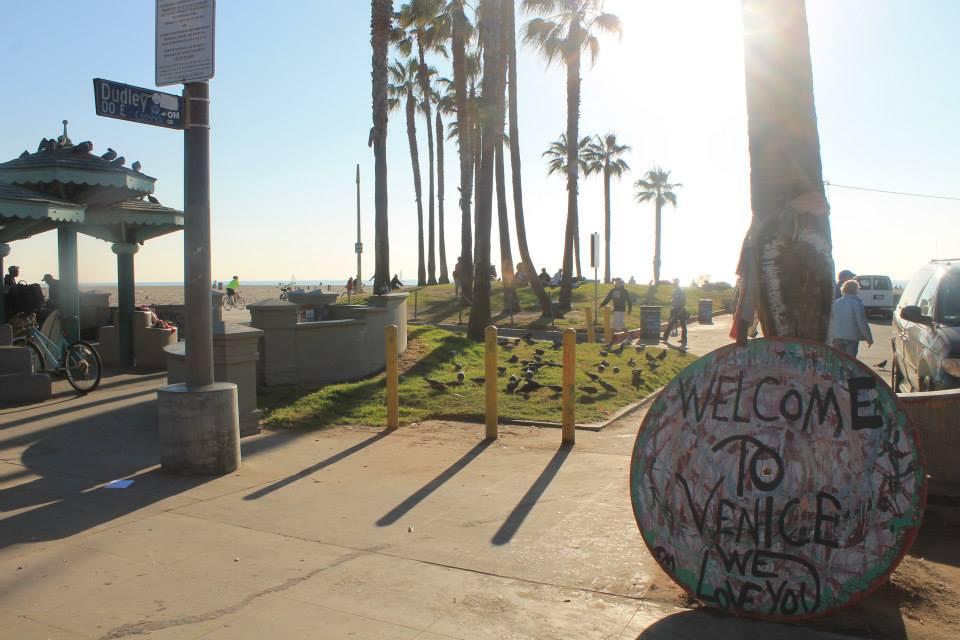 Venice Beach Itinerario in california