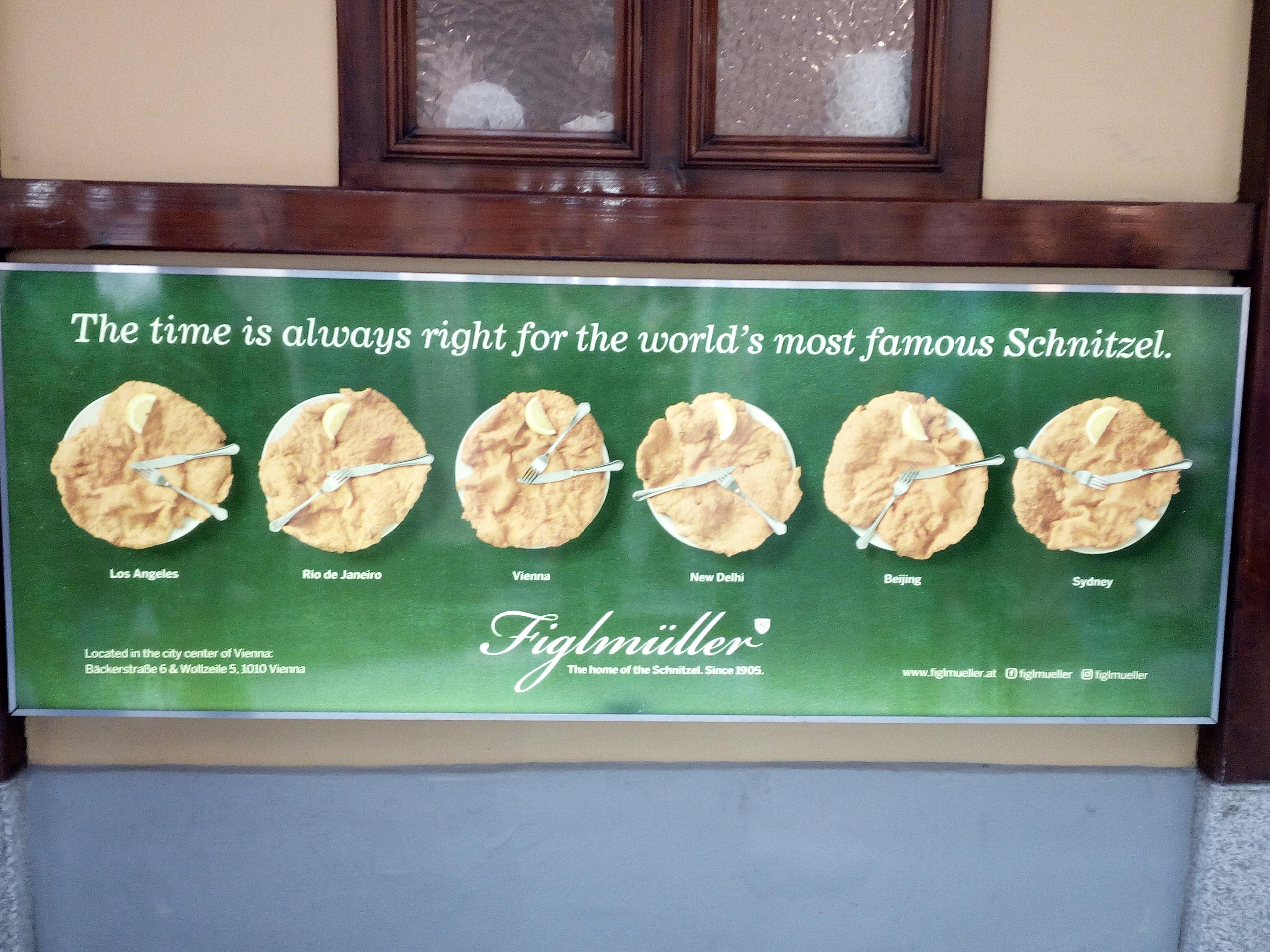 vienna schnitzel figlmuller