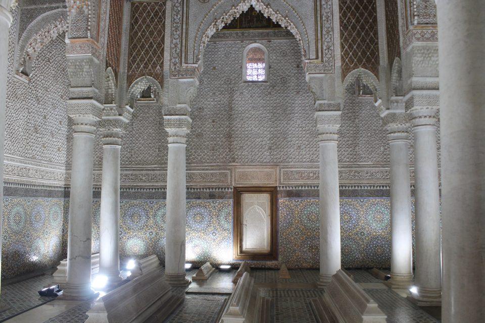 Tombe Sadiane, Marrakech