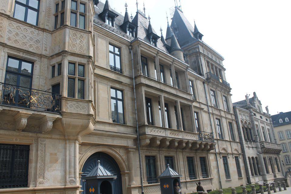 Il palazzo granducale di Lussemburgo