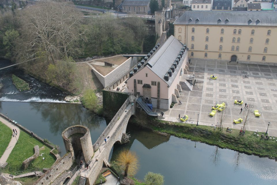 Vista dalla fortificazione delle casematte, Lussemburgo