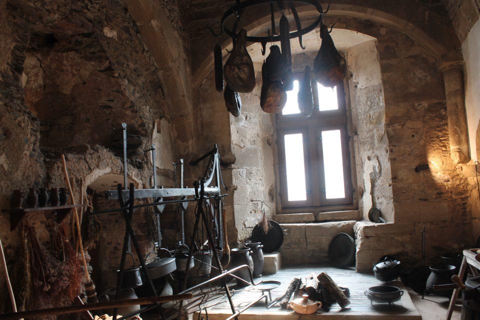 Castello di Vianden, la cucina