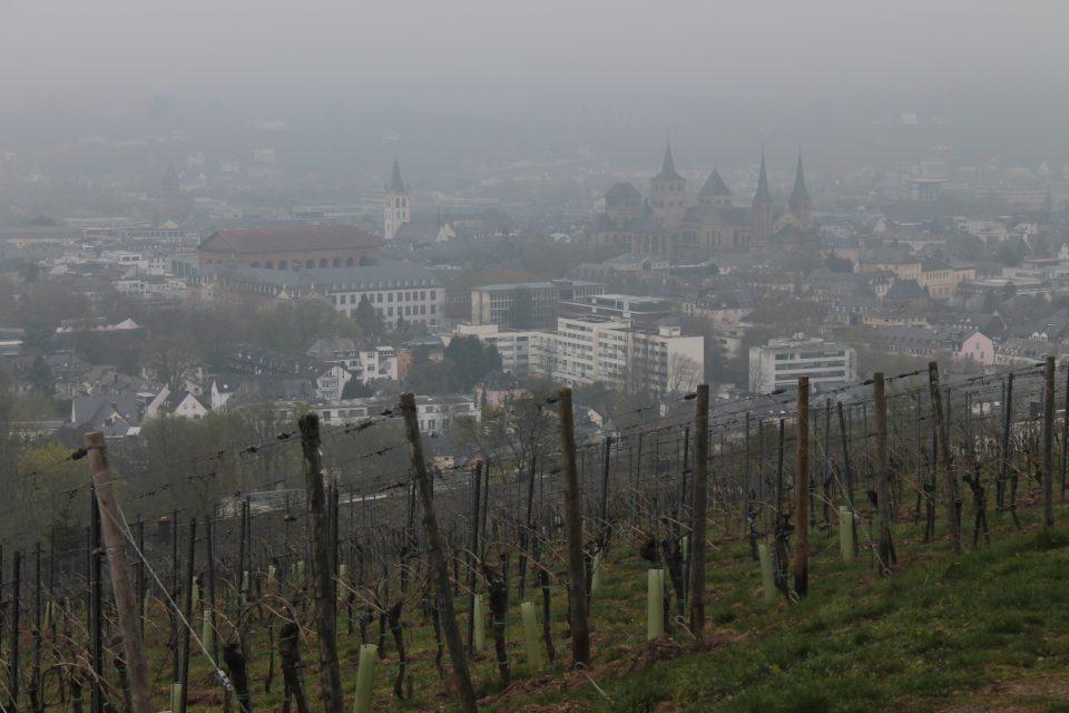 Vista dal punto panoramico, Trier - Treviri