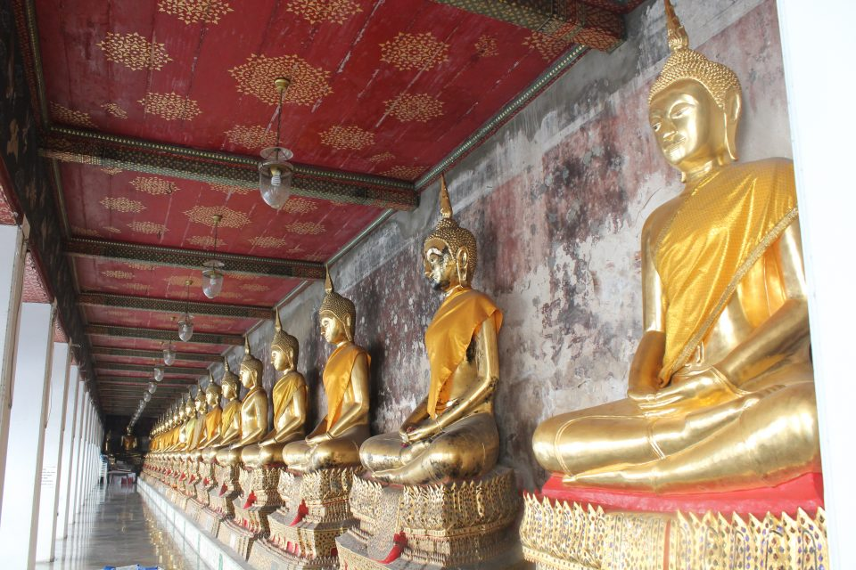 Tempio di Wat Suthat - Bangkok -itinerario Thailandia