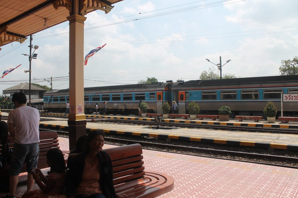 Stazione di Ayuttaya, Thailandia come raggiungere Ayutthaya