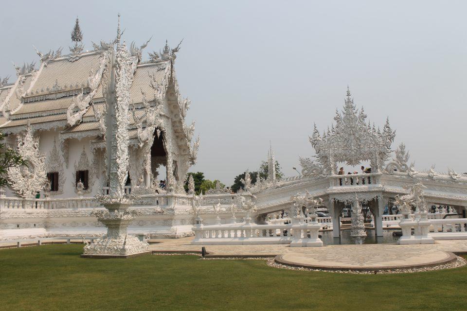 White Temple - Chiang Rai -itinerario Thailandia