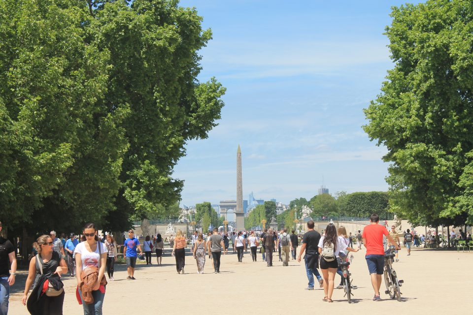 Jardin de Tuileries, Parigi