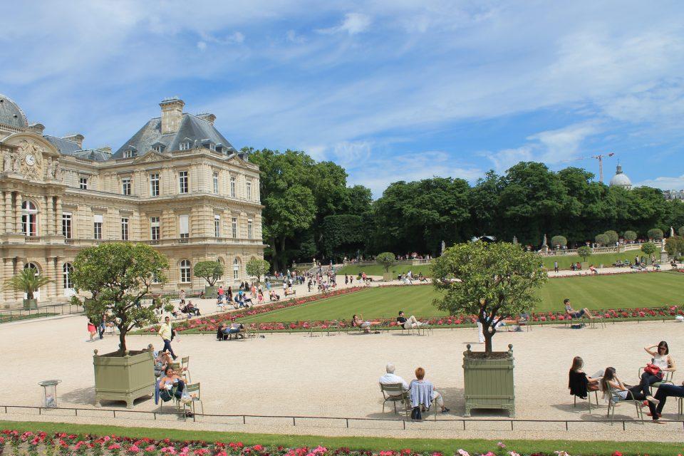 Giardin de Luxembourg, Parigi