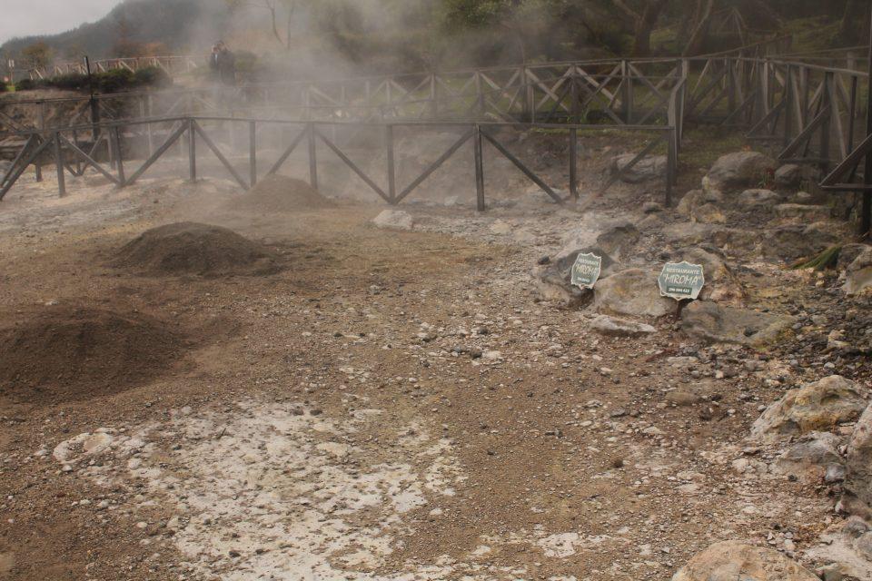 Caldeiras utilizzate per la cottura - Isole azzorre