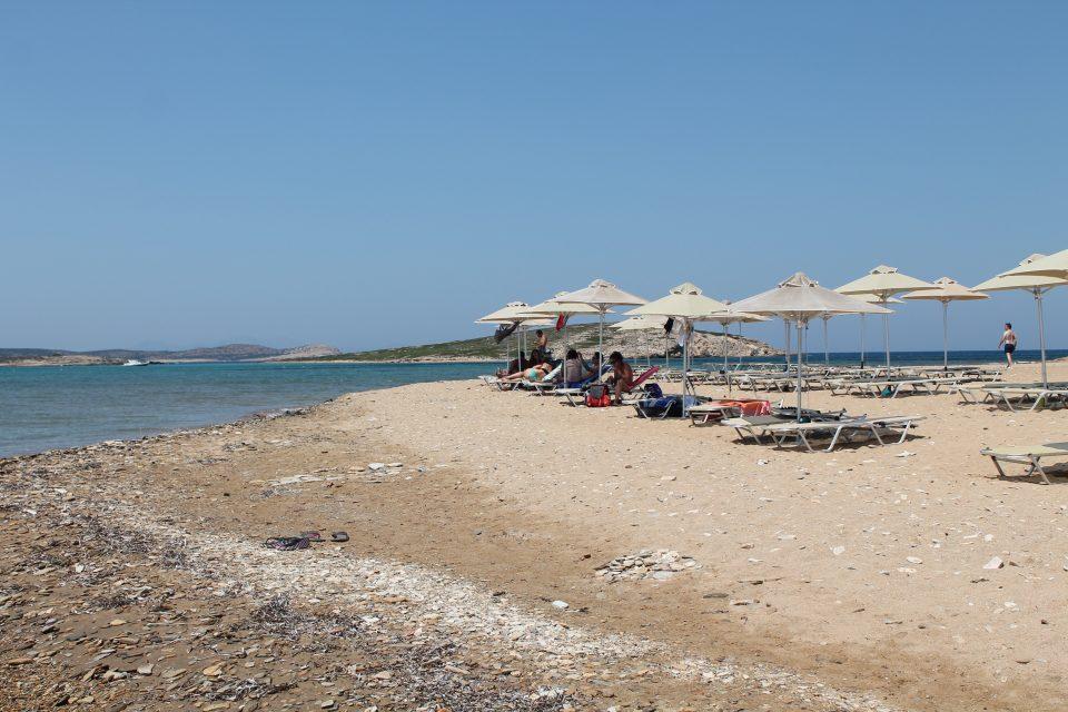 Spiaggia di Antiparos, Grecia