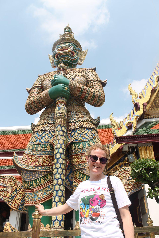 La maglietta - palazzo reale di Bangkok