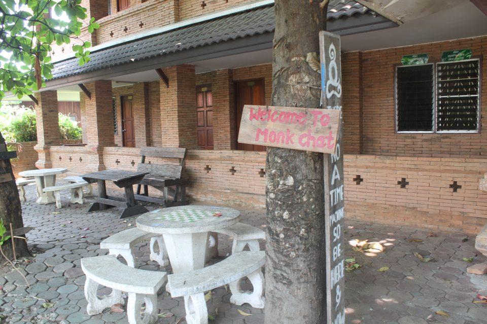Parlare con i monaci  - monk chat - Chiang Mai