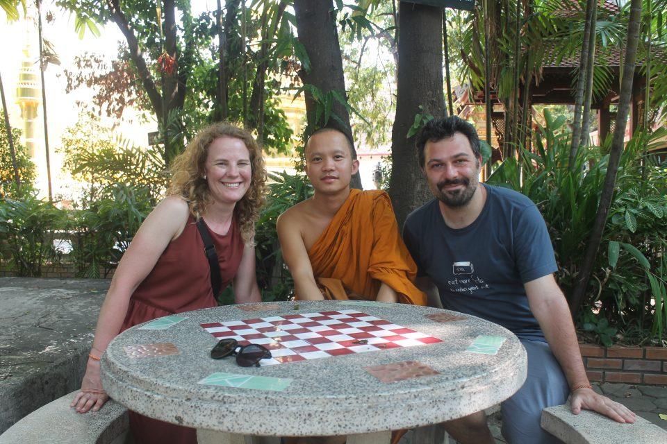 Parlare con i monaci - cosa vedere a Chiang Mai