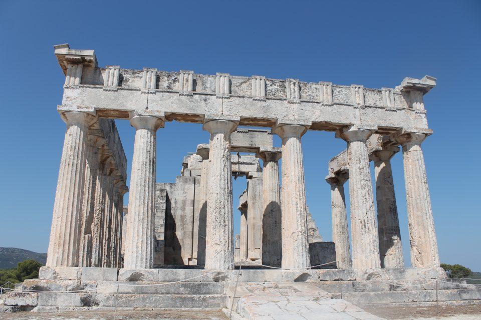 Tempio di Aphaia- andare a aegina