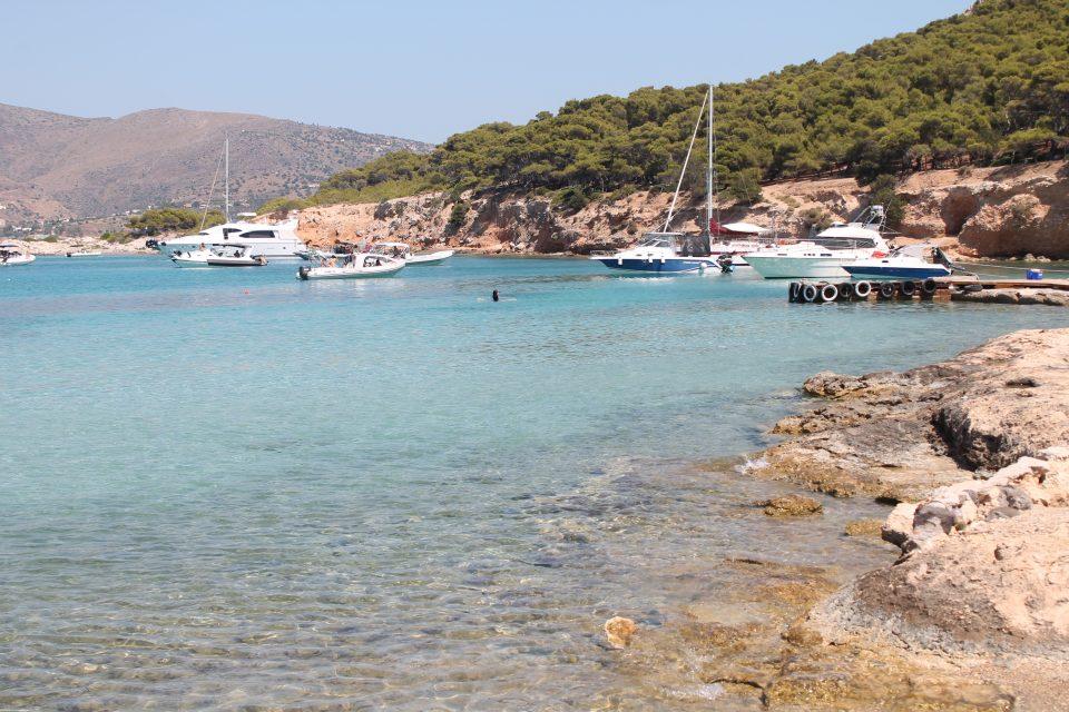 Isola di Moni - Isole greche poco turistiche aegina vicino atene