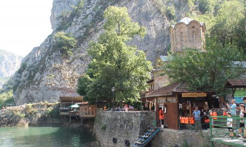 Matka Canyon – la natura alle porte di Skopje