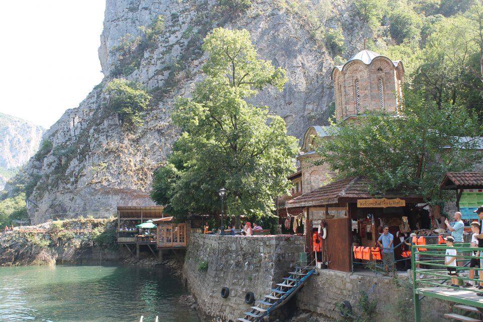 Matka Canyon Skopje macedonia del nord