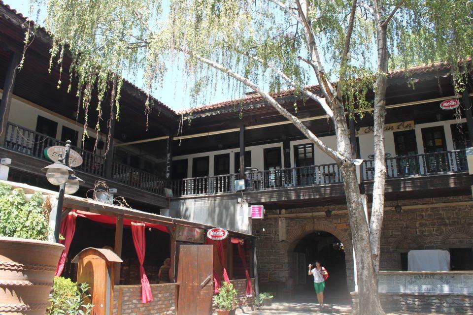 Un antico 'hotel' per carovane, Skopje