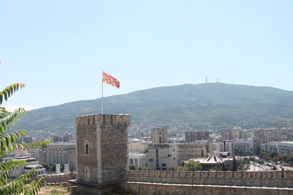 La fortezza di Skopje