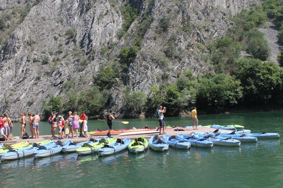 Noleggio Kayak - Matka Canyon - Macedonia del Nord