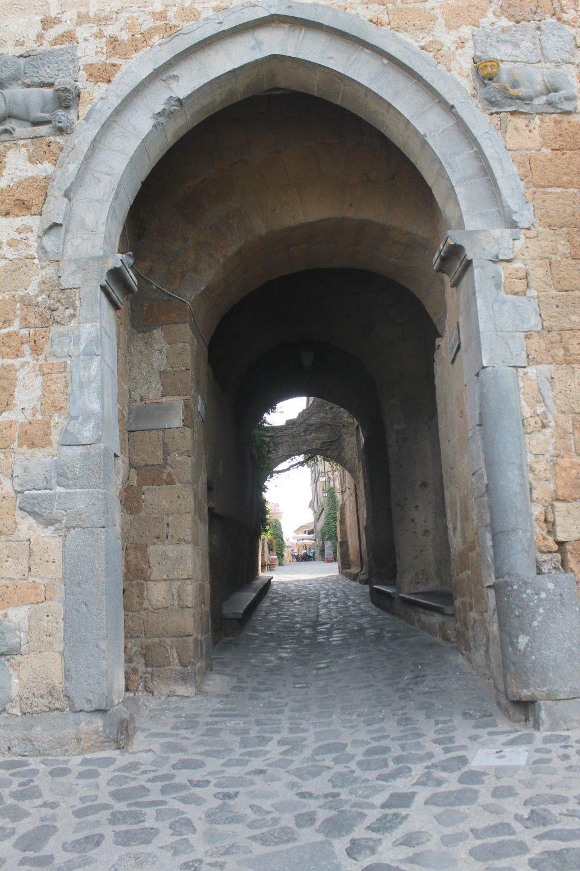 Porta Santa Maria, Civita di Bagnoregio