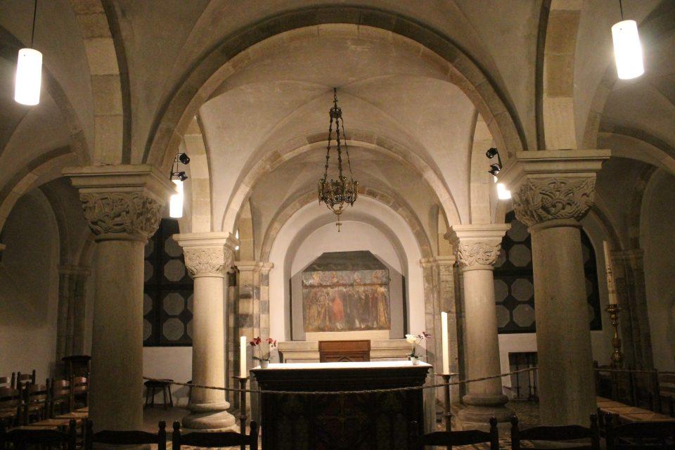 Cripta della chiesa di San Servazio, Maastricht