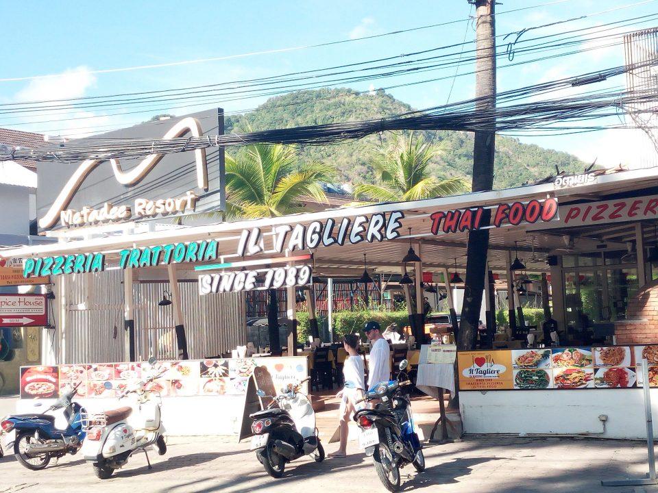 Kata beach, locale 'tipico'
