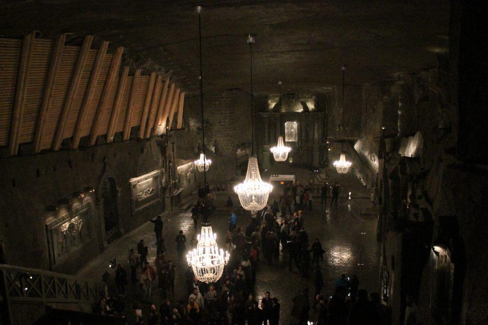 Cappella,  miniera di sale di Wieliczka