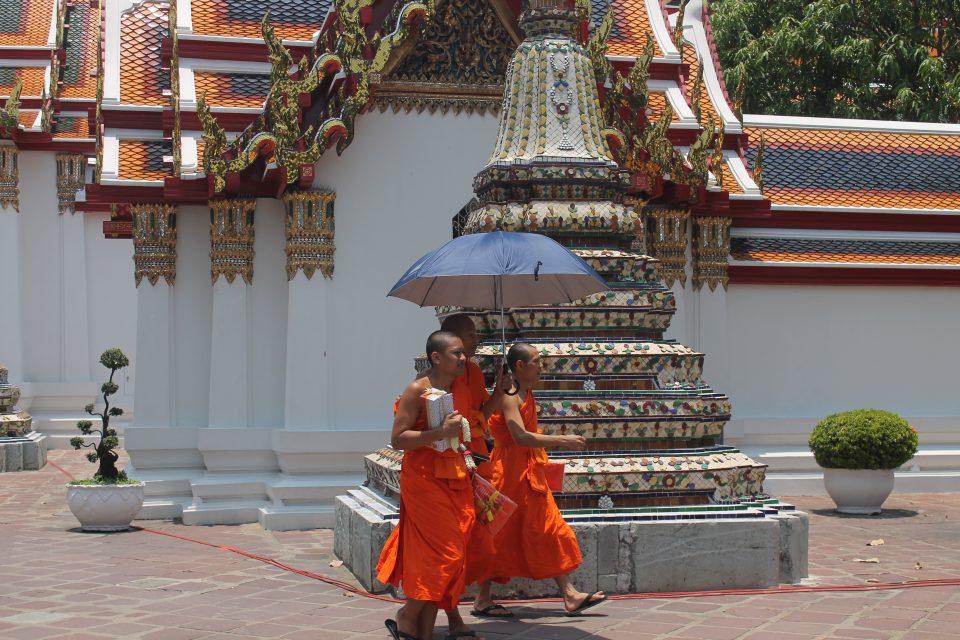 Monaci al Wat Pho