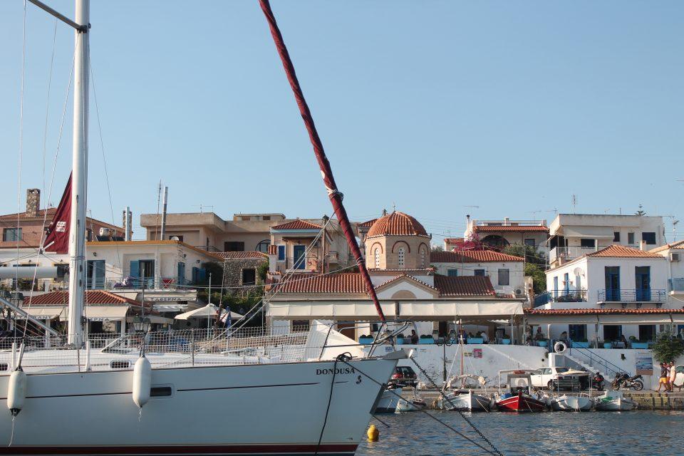 Aegina, intervista Touripp