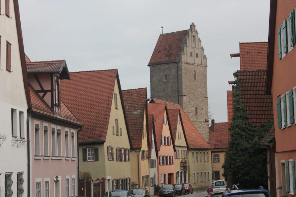 Dinkelsbüh - itinerario strada romantica