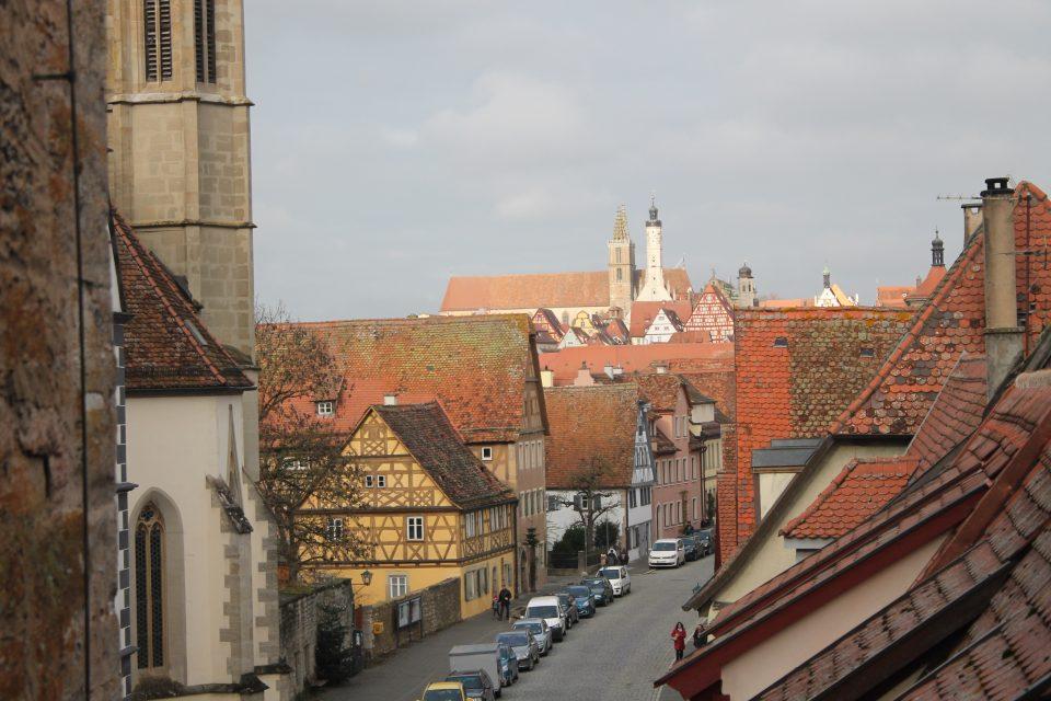 Rothenburg ob der Tauber a Natale  - itinerario strada romantica