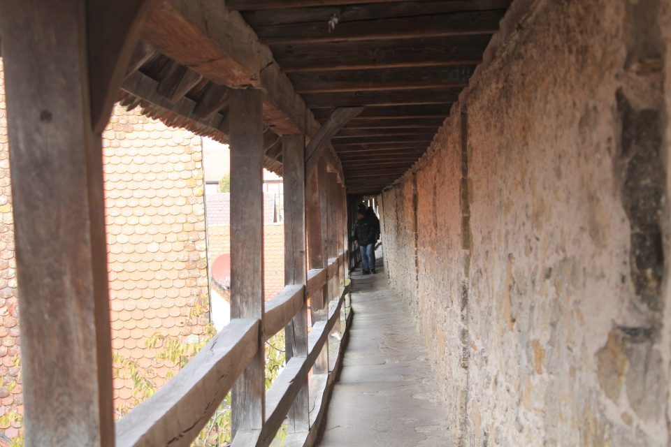 Camminando sulle mura - Rothenburg ob der Tauber