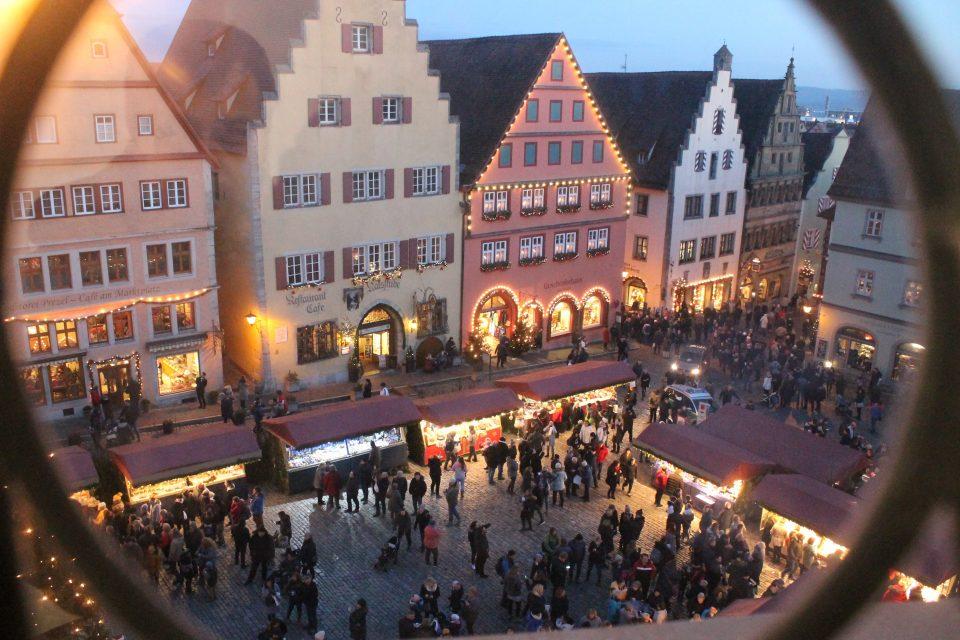 Rothenburg ob der Tauber, Marktplaz