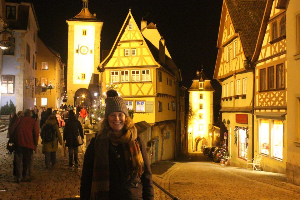 Rothenburg ob der Tauber a Natale