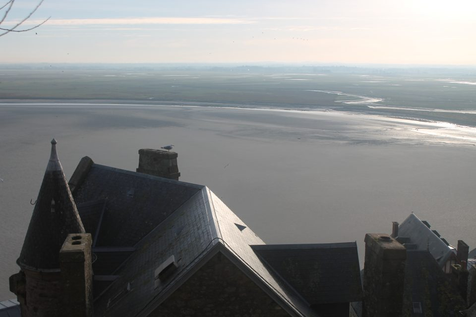 Mont Saint Michel, bassa marea