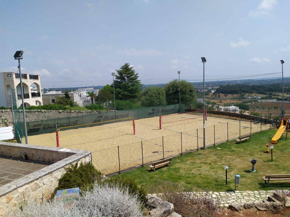 """Campo di beach volley sul """"lungomare"""" di Locorotondo @posh_backpackers"""